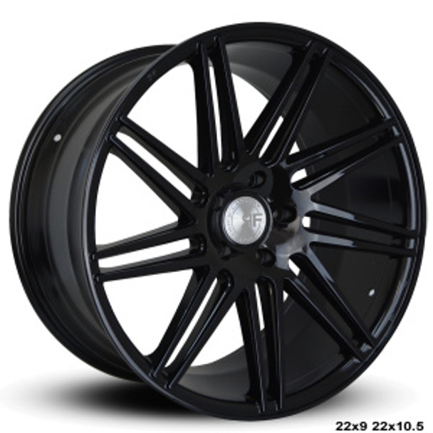 """Now you can """"sexify"""" your vehicle with these BEAUTIFUL concave wheels from RoadForce! Priced per wheel. Order them staggered if you want to have that DEEEP concave look in the rear.  Available Sizes: 22x9, 22x10.5 - 5x112 - 5x114.3 -5x120 -Black Face  They are TPMS Compatible! Order yours today!"""