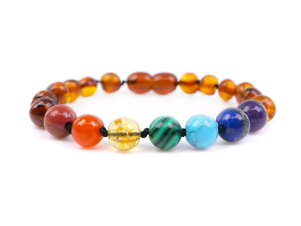 Amber teething bracelet chakra