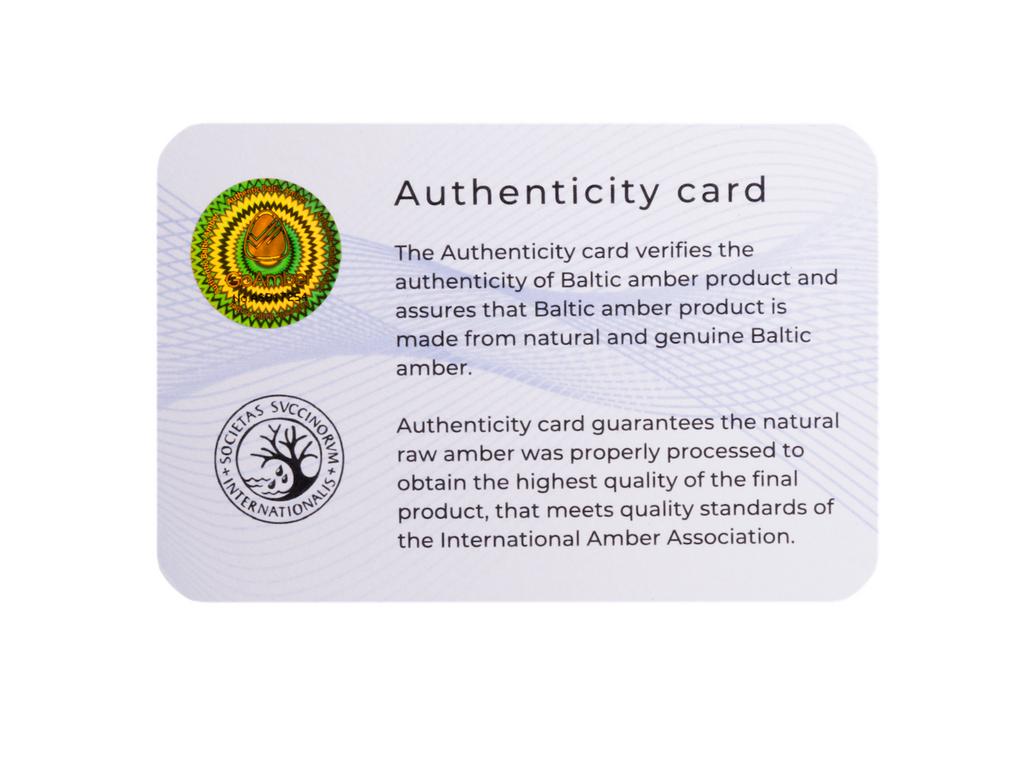 Adjustable adult amber anklet purple amethyst certificate