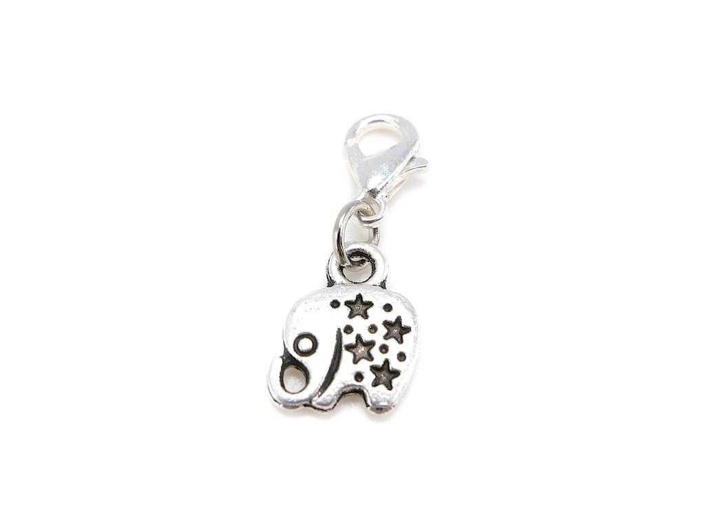 Good luck elephant charm pendant
