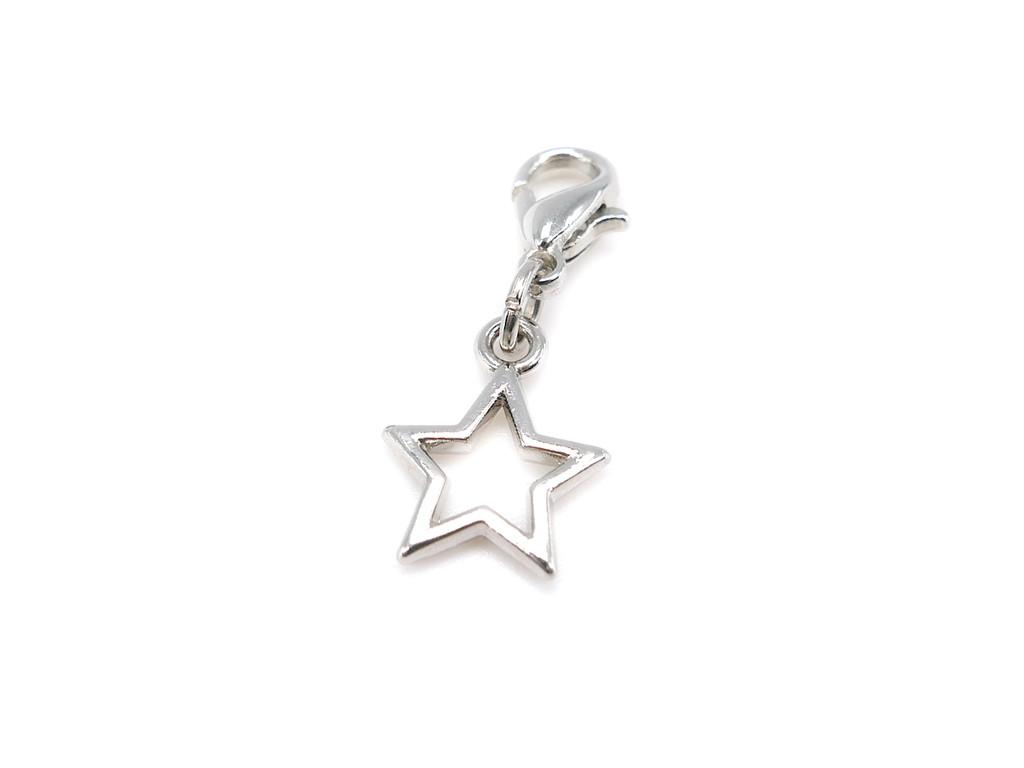 Star pendant bead charm