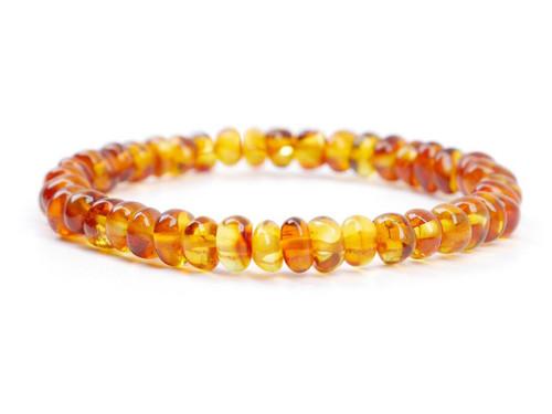 Cognac adult amber bracelet