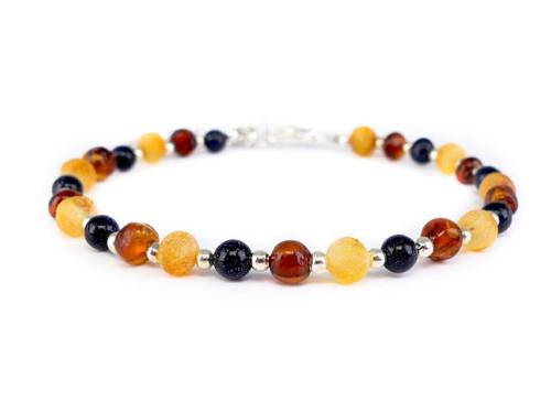 Sandstone adult amber bracelet