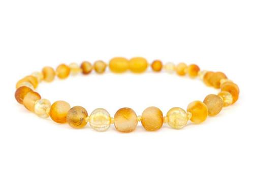Citrine adult amber bracelet