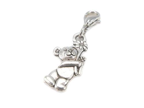 Teddy bear charm pendant