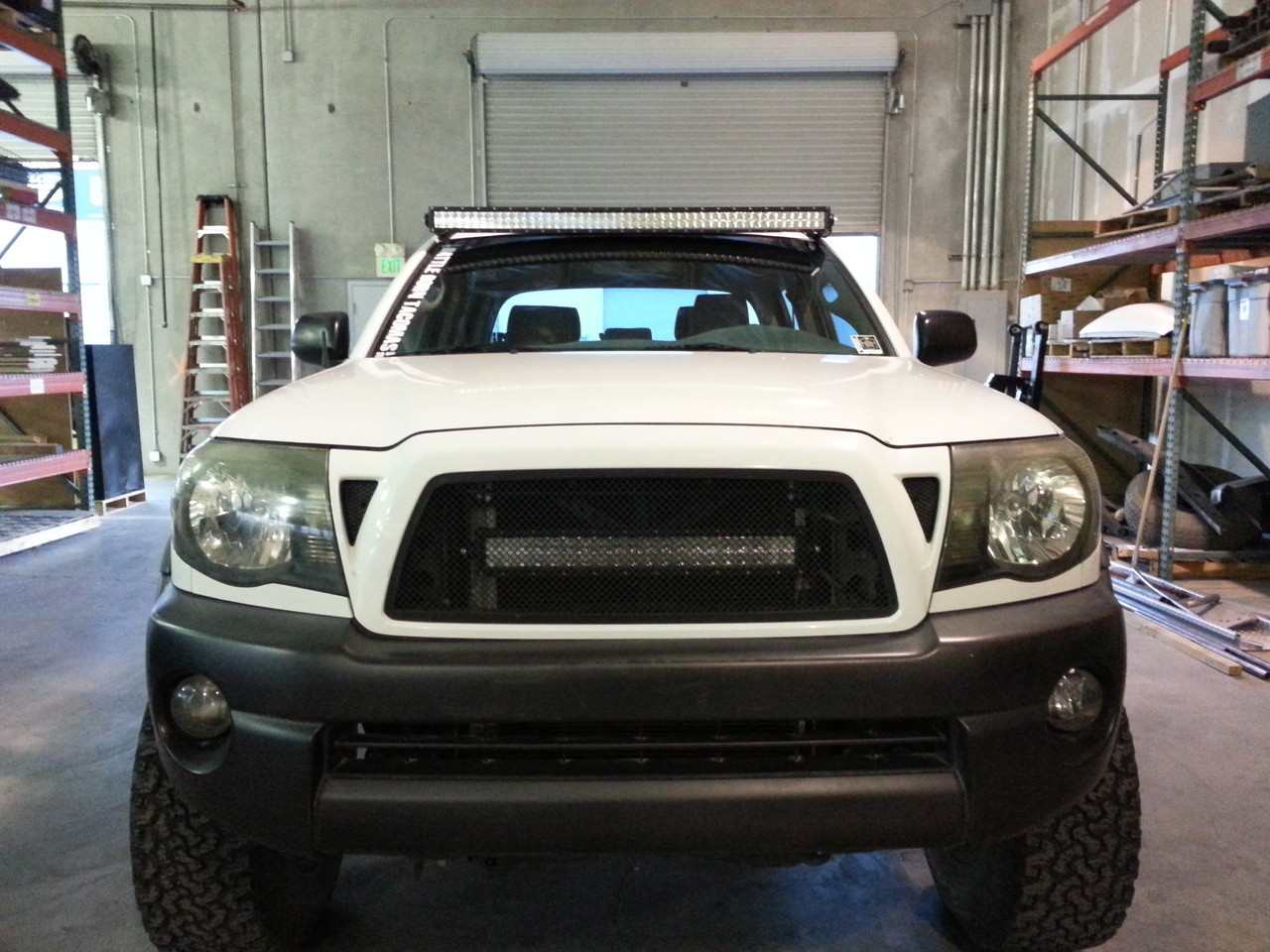 "05+ Tacoma 50"" Straight LED Bar Roof Brackets"