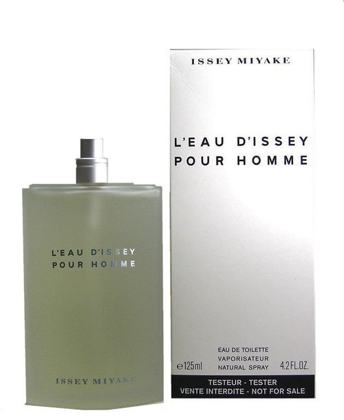 L'EAU D'ISSEY POUR HOMME By Issey Miyake EDT Spray 4.2 oz In White Box W/O Cap