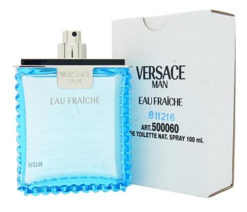 Versace Man Eau Fraiche 3.4 oz / 100 ML Eau De Toilette For Man*White In Box*