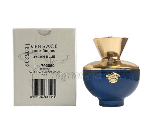 Versace Dylan Blue Pour Femme EDP 3.4 oz For Women TESTER