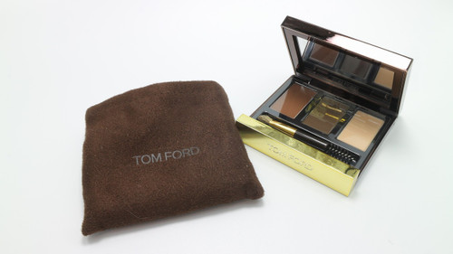 Tom Ford Eye Brow Sculpting Kit 02 Medium New In Brown Pouch
