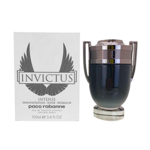 Paco Rabanne Invictus Intense Eau De Toilette 3.4 oz / 100 ml WHITE TXT BOX