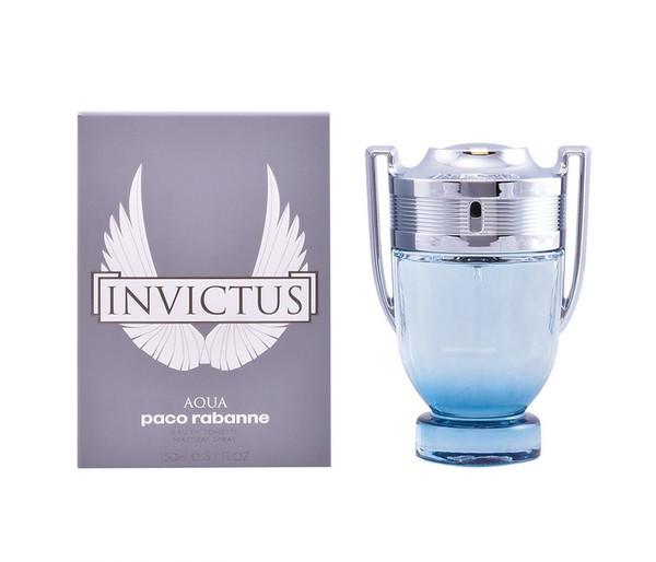Paco Rabanne Invictus Aqua Eau De Toilette 5.1 oz / 150 ml For Men