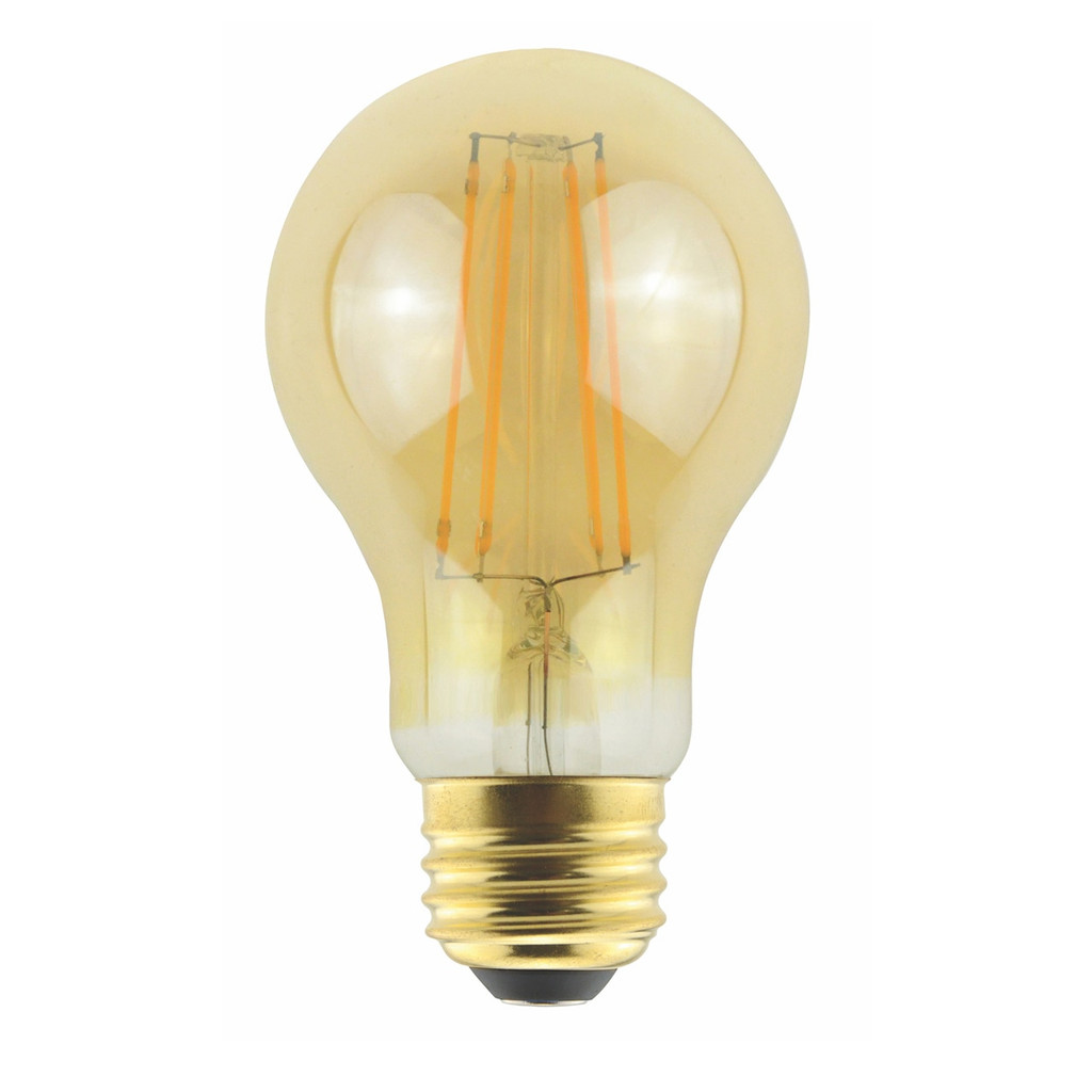 Halco A19AMB5ANT/827/LED2 5W 2000K LED Decorative Bulb