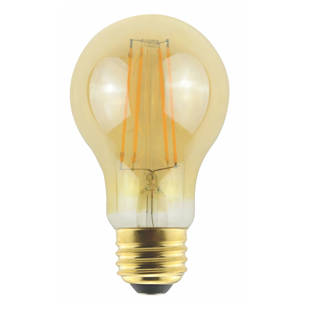 Halco A19AMB8ANT/822/LED2 9W 2000K LED Decorative Bulb