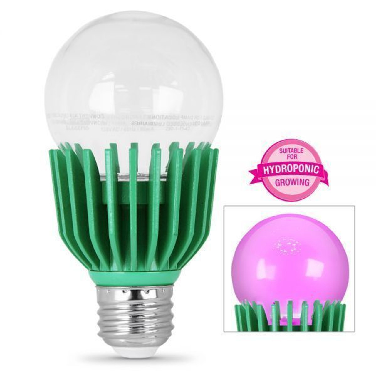 FEIT Electric  LED Grow Light Bulb  9 watts Reflector  BR30