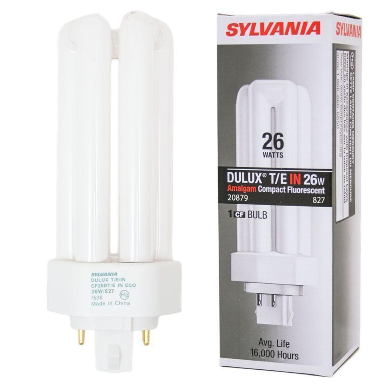 NEW Sylvania CF26DD//827 26W T4 Compact Fluorescent Light Bulb