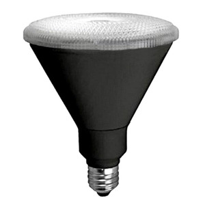 TCP LED17P38D35KFLB 17W LED Black PAR38 3500K