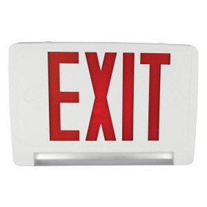 TCP LEDPCUFRWRC LED Combo Exit/Emergency Sign Remote Capable