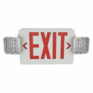 TCP LED20784 LED Combo Exit/Emergency Sign Remote Capable