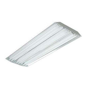 TCP EL4SA632UNIH10CSP 4' Elite Narrow Distribution High Bay T8 Fluorescent Fixture