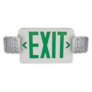 TCP LED20785 LED Combo Exit/Emergency Sign Remote Capable