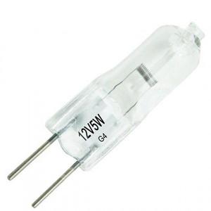 Topstar 12V5W JC Series Tungsten Halogen G4 Light Bulb   2 Pin