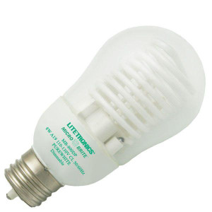 Litetronics Micro Brite MB-800DP 8W A19 Purewhite Dimmable CCFL