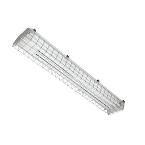 TCP PC4SA254UNIV 54W 4' Power Cage T5 Fluorescent Fixture