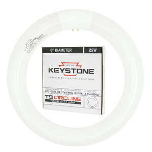 Keystone KTL-FC8T9-CW 22W 4100K Circline Lamp