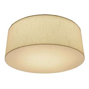 """15"""" 13W LED Russell Square Round Ceiling Fixture 3000K 1"""