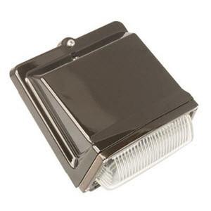 TCP WP80UNIT350KBRZ 80W LED Wall Pack Fixture 5000K
