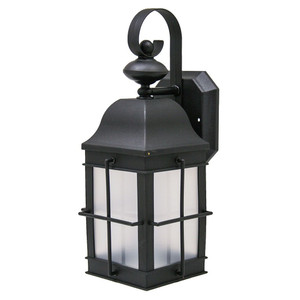 Incon Lighting 31965-23GU-35K 23 Watt CFL Black Stagecoach Light Fixture