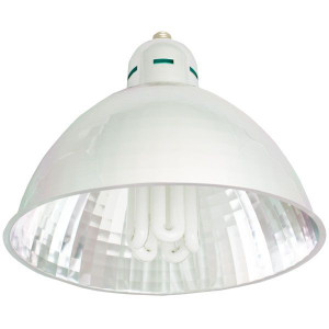105W CFL Grow Dome Plant Light Horticulture Fixture | 2700K
