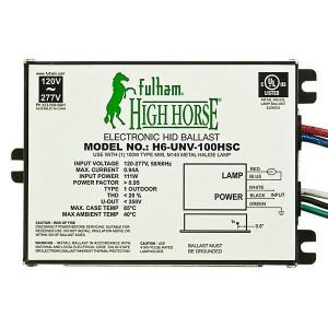 Fulham HighHorse H6-UNV-100HSC Electronic HID Ballast