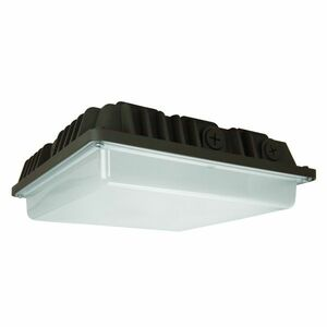 TCP TCPCLS36350KBRZPC 57W LED Canopy Light 5000K