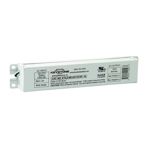 Keystone KTLD-60-UV-12V LED Driver 12VDC Constant Voltage 60W Max