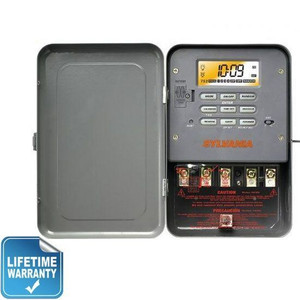 Sylvania SA307 Industrial Digital Timer Switch Single Throw 240V