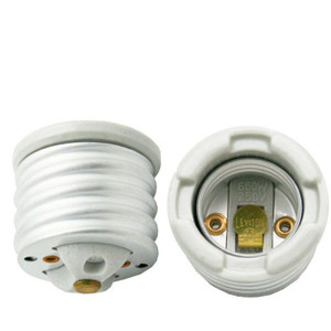 Leviton 8681 E39 to E26 Glazed Porcelain Adapter