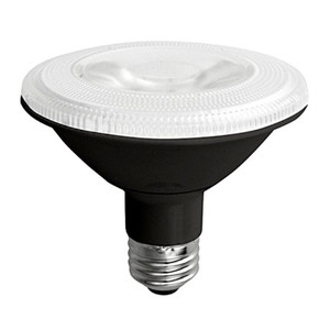 TCP LED12P30SD30KFLB 12W LED Black PAR30 3000K