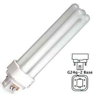 18 Watt CFL Light Bulb 3500K - F18DBX/835/ECO4P - G24q-2 Base