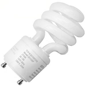 TCP 33113SP35K 13W CFL GU24 Base Springlamp 3500K