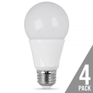 Feit Electric OM60/850/LED/4 9.5W LED A19 5000K 4-Pack