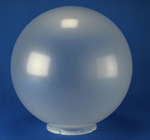 Replacement VC Frost 6 Inch Outdoor Acrylic Light Globe | Lip