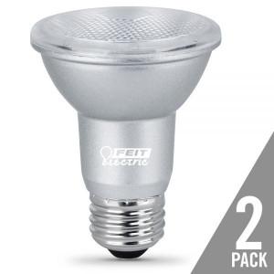 Feit Electric PAR20/850/LEDG11/2 7W LED PAR20 5000K 2-Pack