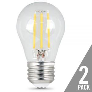 Feit Electric BPA1540/827/LED/2 4.5W LED Ceiling Fan Light 2700K 2-Pack