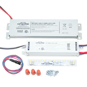 Keystone KT-EMRG-LED-5-500-K1 LED Emergency Battery Back-Up Retrofit Ballast