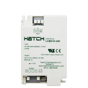 Hatch LCB018-UNI LED Driver 10-18W Class 2 Power Unit 700mA