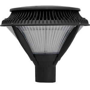 84 Watt LED Area Roadway Post Top Light Fixture with Lens IP67 Rated