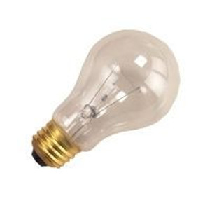 Halco 6318 Clear A19CL25/5 25W Incandescent Bulb