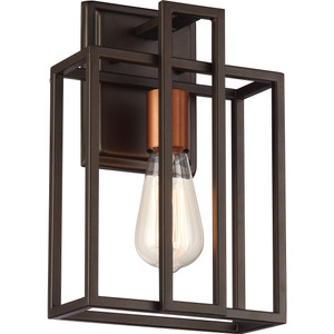 Nuvo Lighting 60-5851 Lake Bronze 1 Light Wall Sconce With 60w Vintage Lamp Inc.